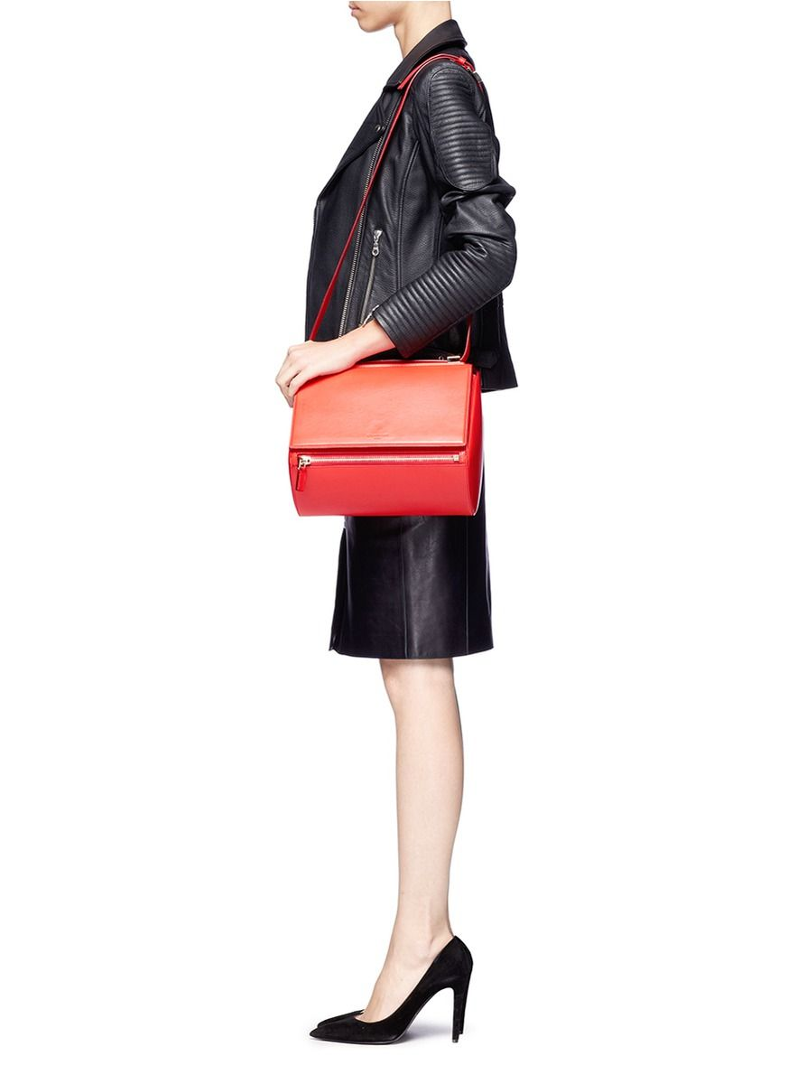6396ed1892 GIVENCHY - 'Pandora Box' medium leather bag | Red Day Shoulder Bags |  Womenswear | Lane Crawford - Shop Designer Brands Online