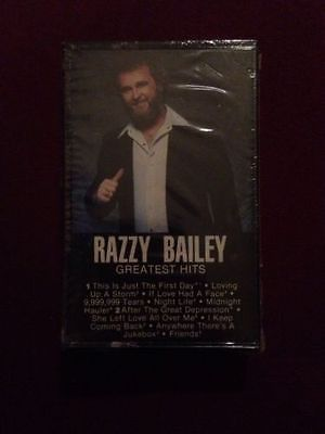Razzy Bailey Greatest Hits Cassette Tape New Sealed country