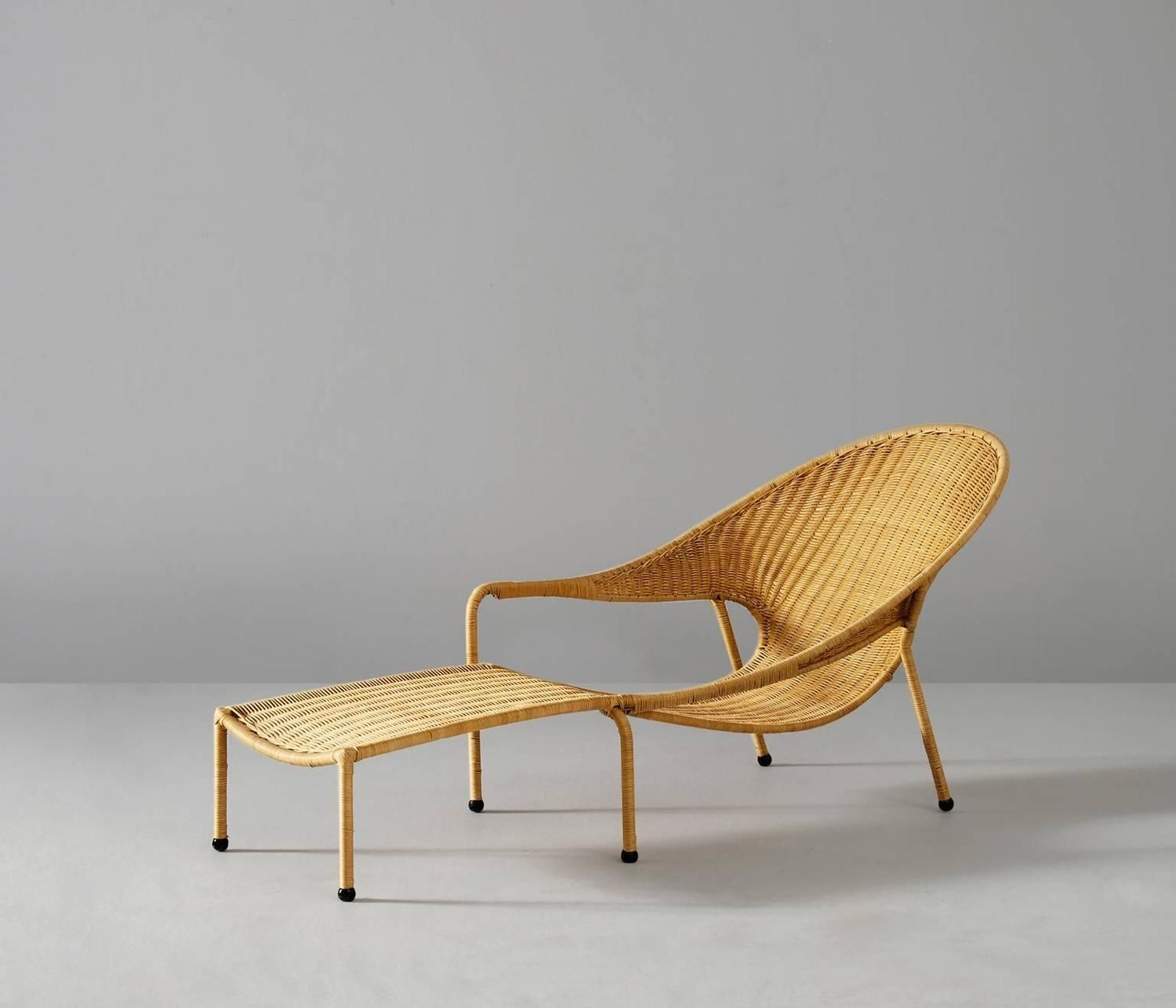 Chaise LongueCaliforniaUs1960s In Francis Mair Wicker 2019 Ygybfv67