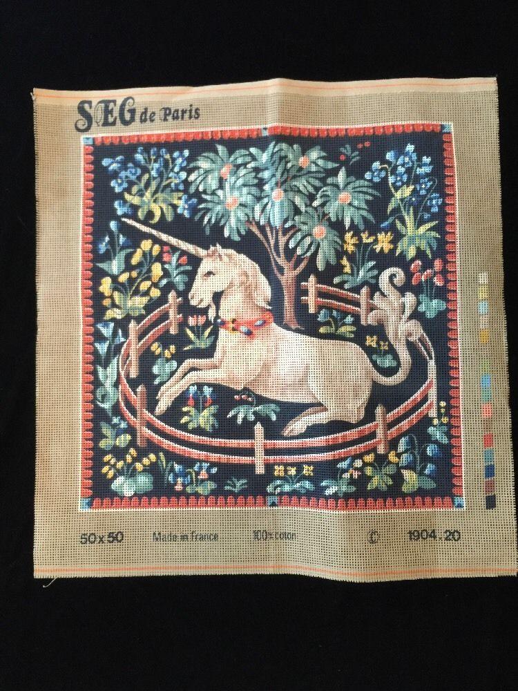 SEG de Paris Tapestry//Needlepoint Kit Festival