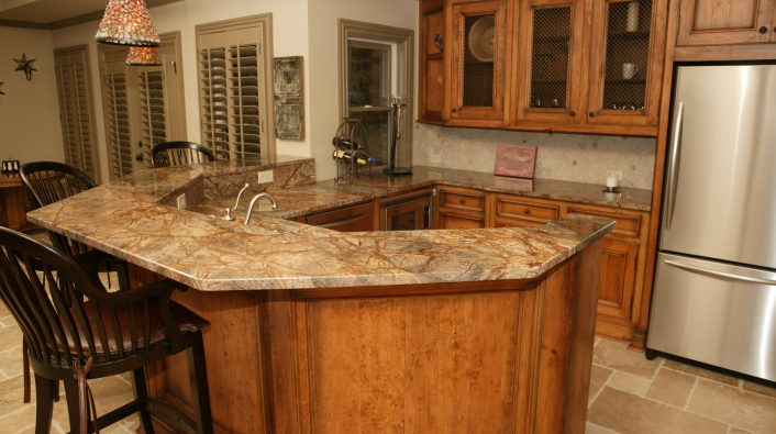 Portrayal Of Wonderful Classic Marble Countertop For Kitchen Decoration