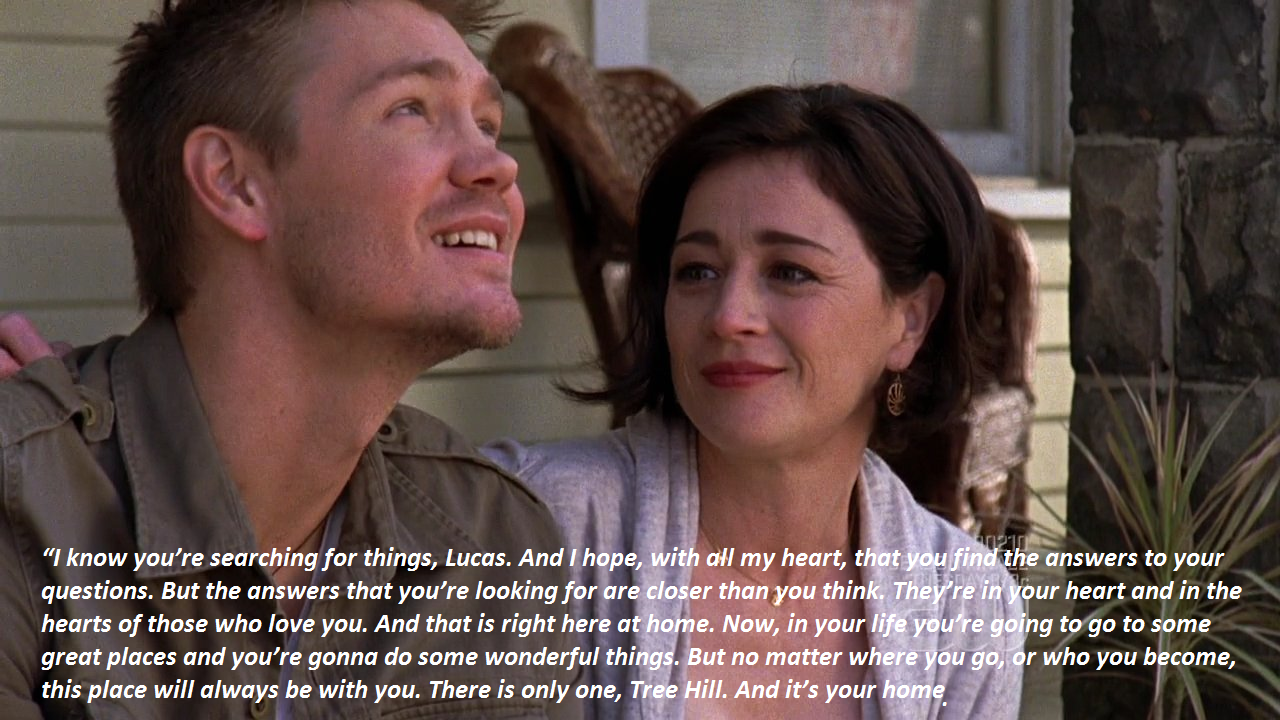 One Tree Hill Quotes About Friendship One Of My Favorite Quotes From Othso Truea Road Always Leads
