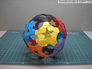 Fontes / Source:  Livro (book): Extreme Origami - Kunihiko Kasahara