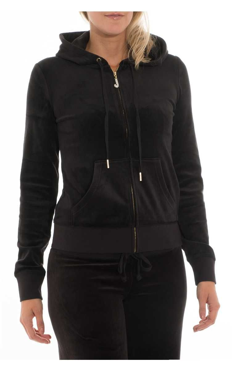 6f410e47 Hoodie Luxe Velour Robertson PITCH BLACK - Nyheter - Raglady | New ...