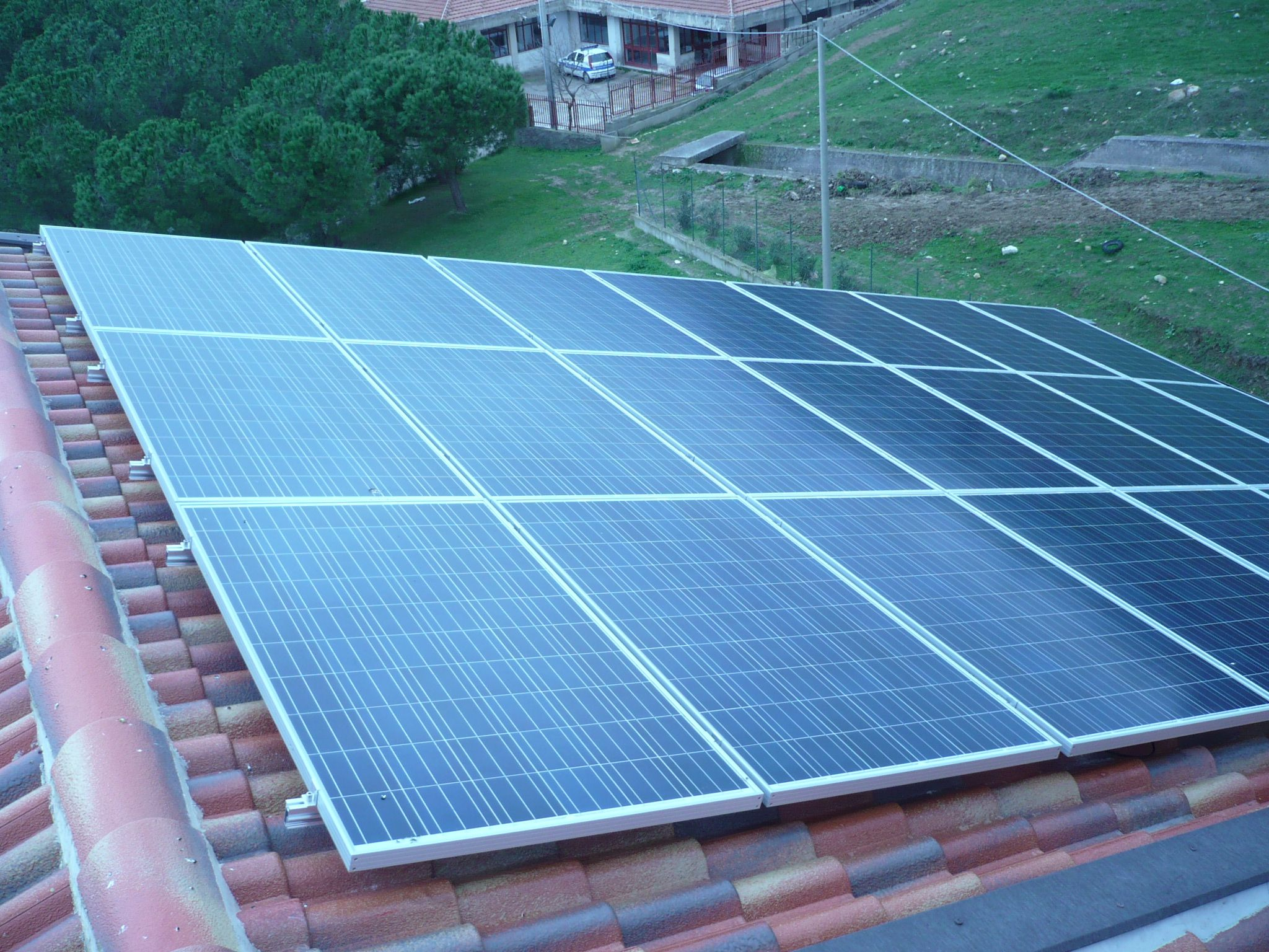 Schema Elettrico Impianto Fotovoltaico 6 Kw : Impianto fotovoltaico da kw installato da medielettra e