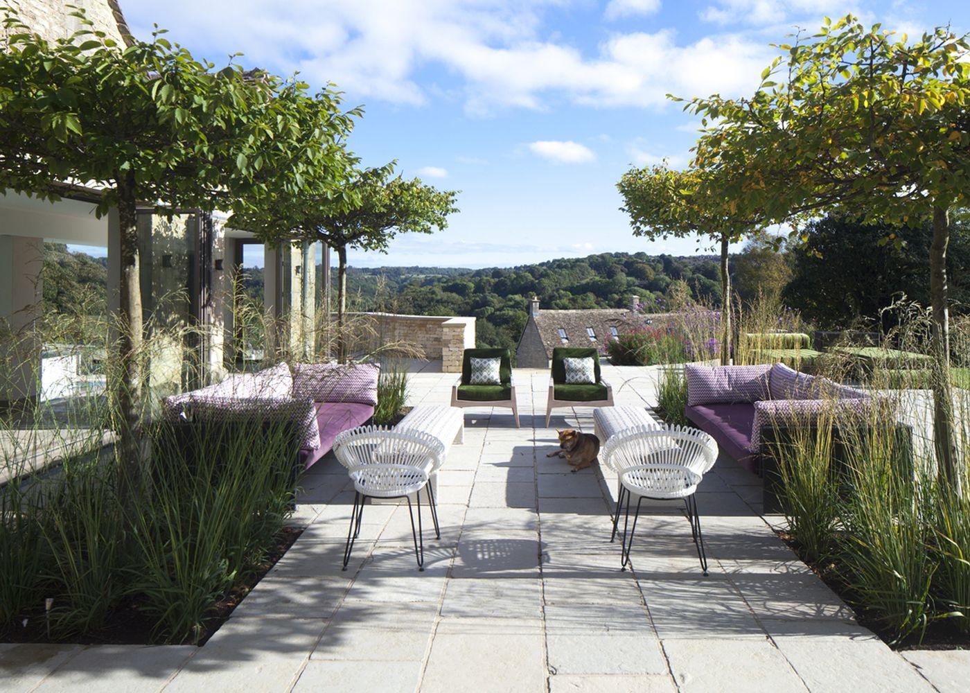 COTSWOLD HOUSE   Charles Bates Interior Design   Roof Garden   Pinterest