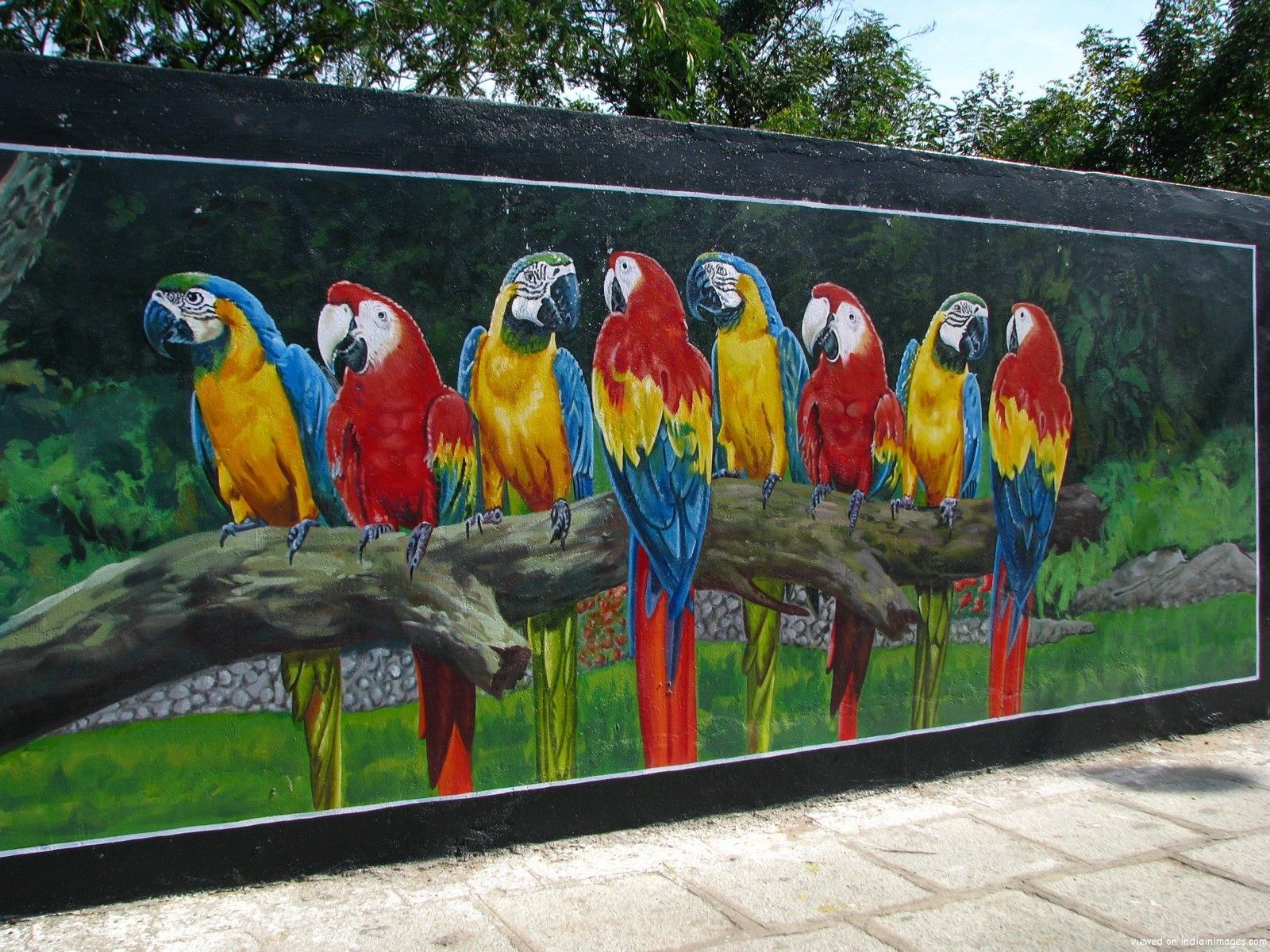 Outside Wall Mural Ideas   Wall Murals Are Large Sized , Scenic Graphics,  Which Are Affixed To Your Wall. The Murals Have