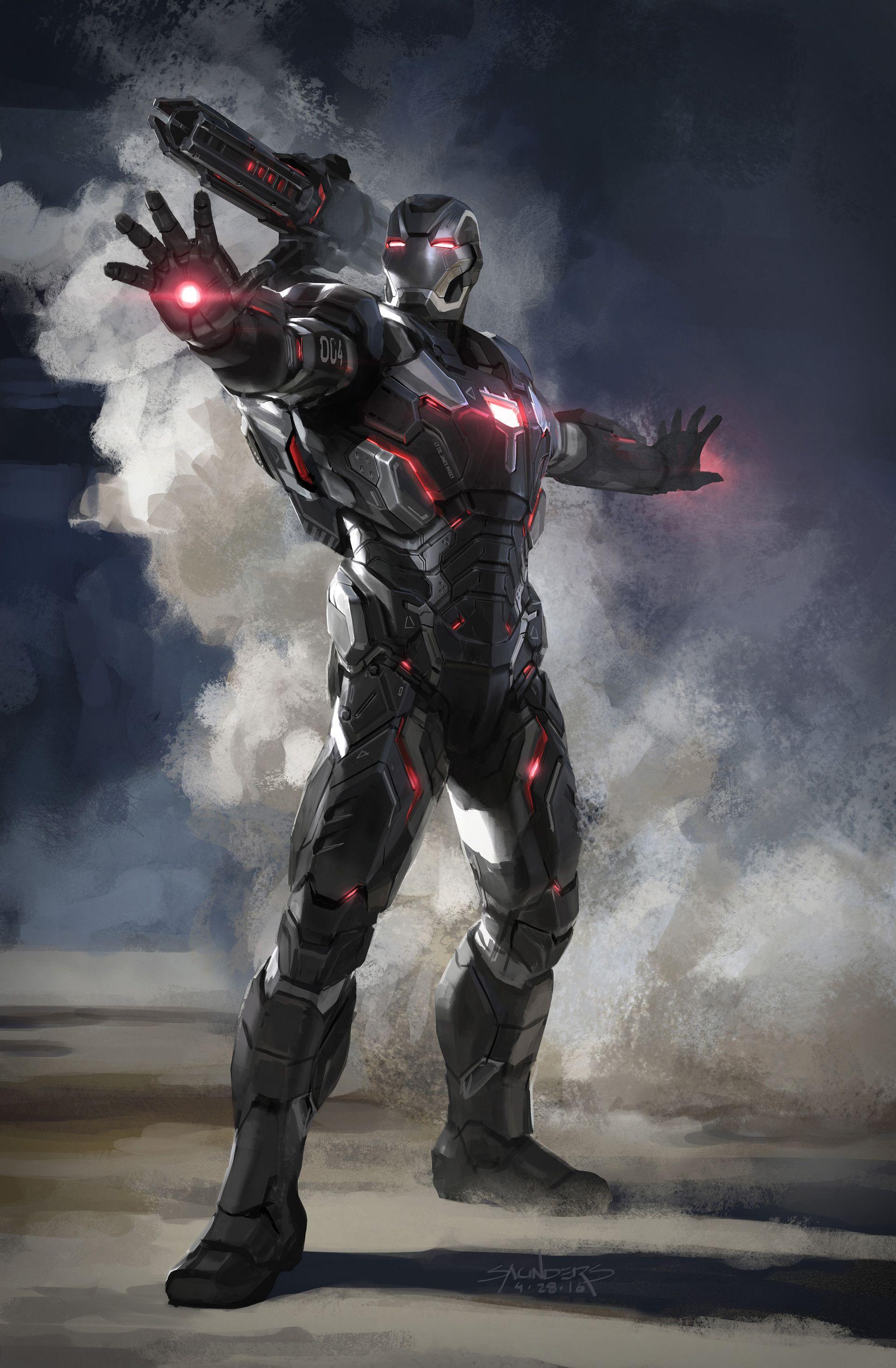 Artstation Avengers Infinity War War Machine Mk Iv Concept Sketch Phil Saunders Marvel Concept Art Iron Man Hd Wallpaper Marvel