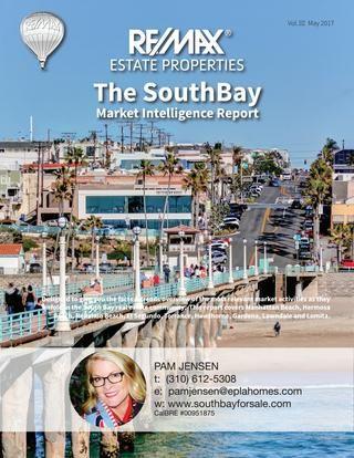 Pam Jensen Market Intelligence Report South Bay Hermosa Beach