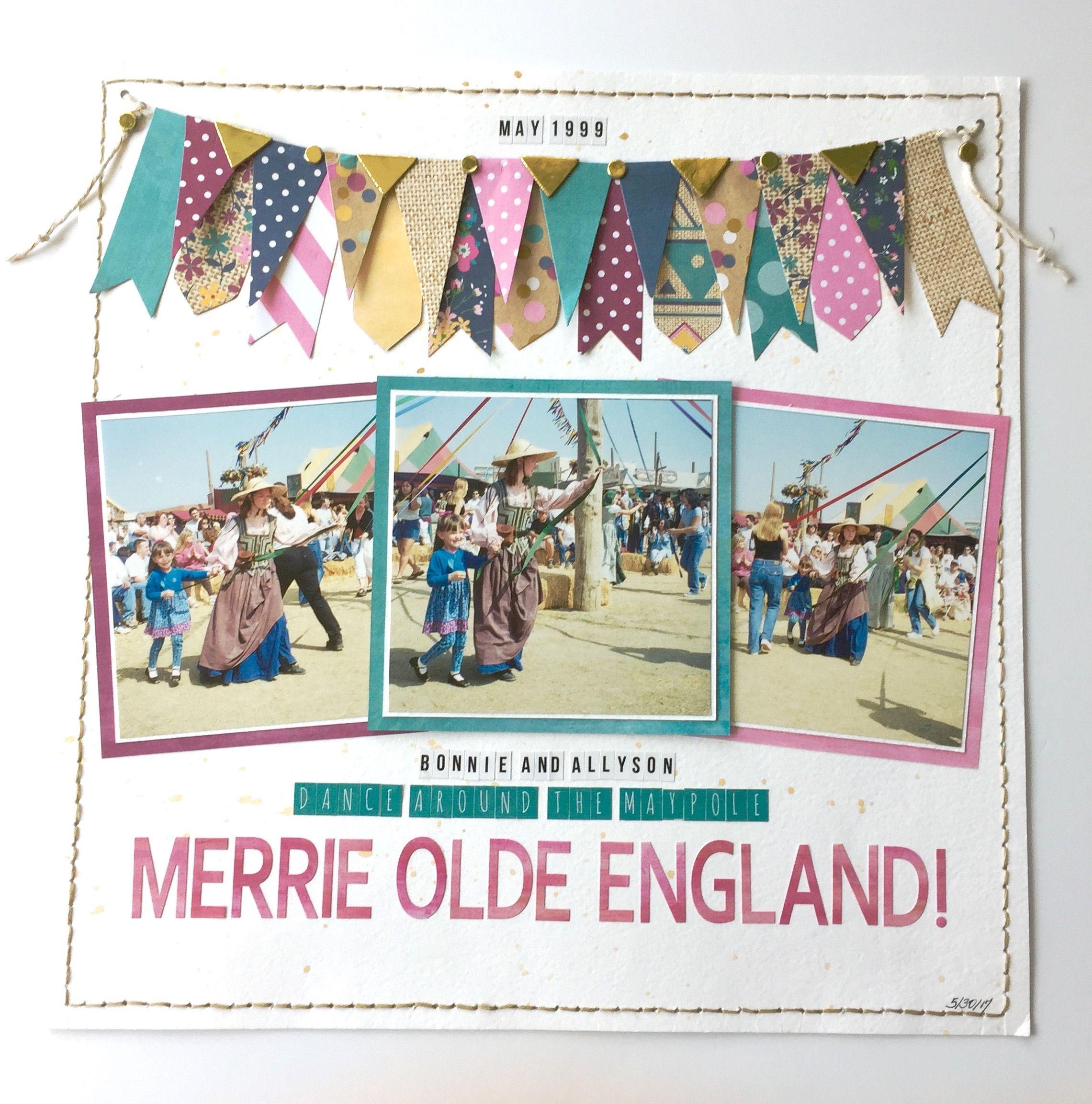 Scrapbook ideas england - Merrie Olde England Scrapbook Com