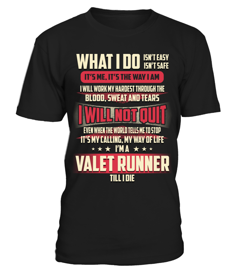 Valet Runner - What I Do