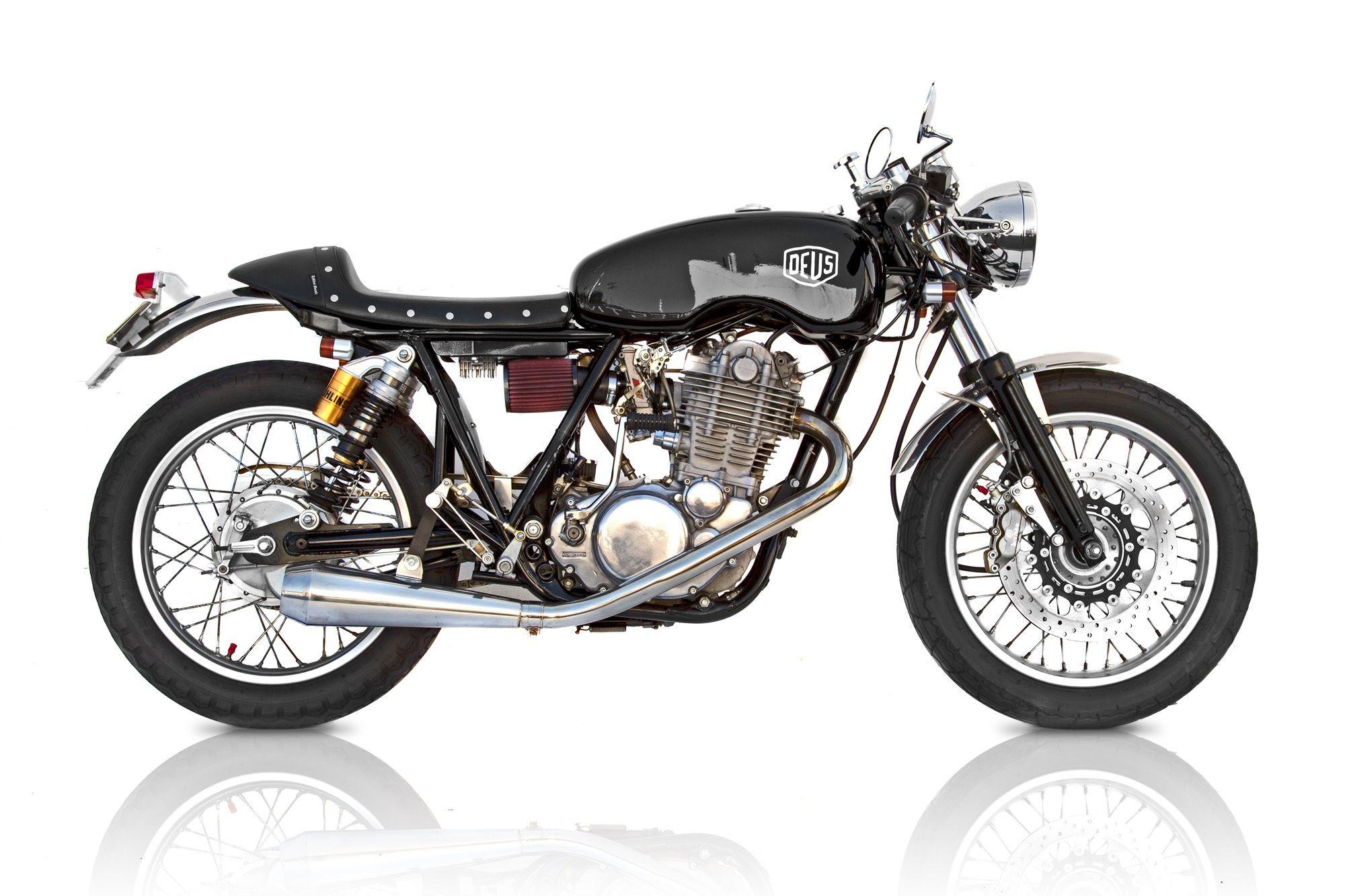 Black SR500TT   Deus Ex Machina   Custom Motorcycles, Surfboards, Clothing and Accessories
