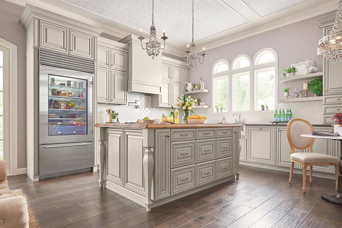 740F Painted Ember Glaze #waypointlivingspaces #kitchen ...