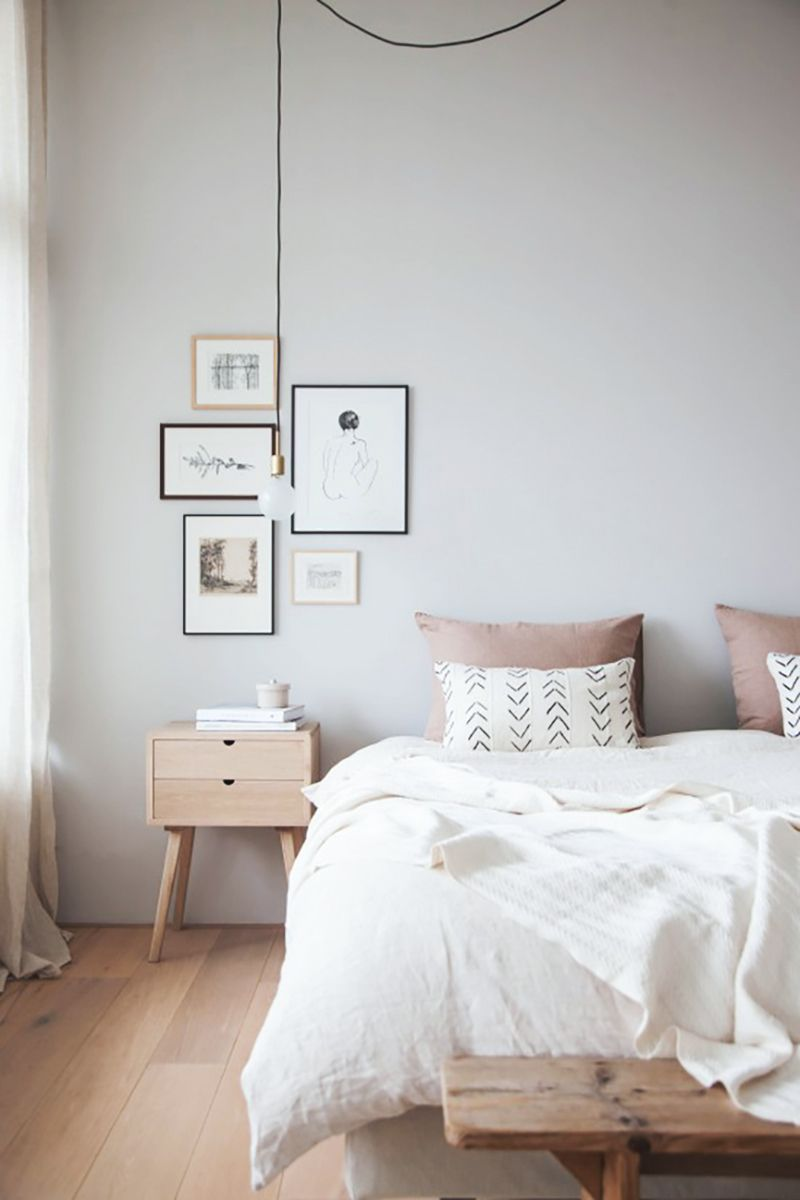 Como Decorar O Criado Mudo De Forma F Cil Decor Pinterest  ~ Cores De Tinta Para Quarto De Casal