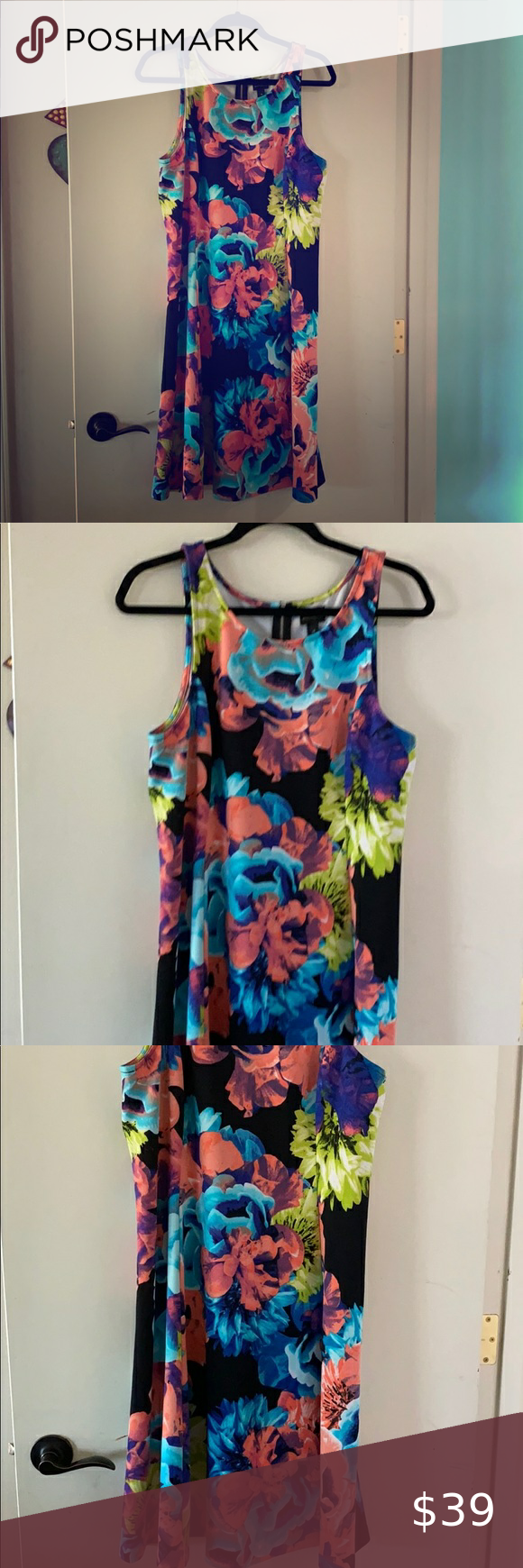 Beautiful Floral Spring Summer Dress Size 16 The Fit On This Dress Is So Amazing Very Flattering The Des Summer Dresses Size 16 Dresses Spring Summer Dress [ 1740 x 580 Pixel ]
