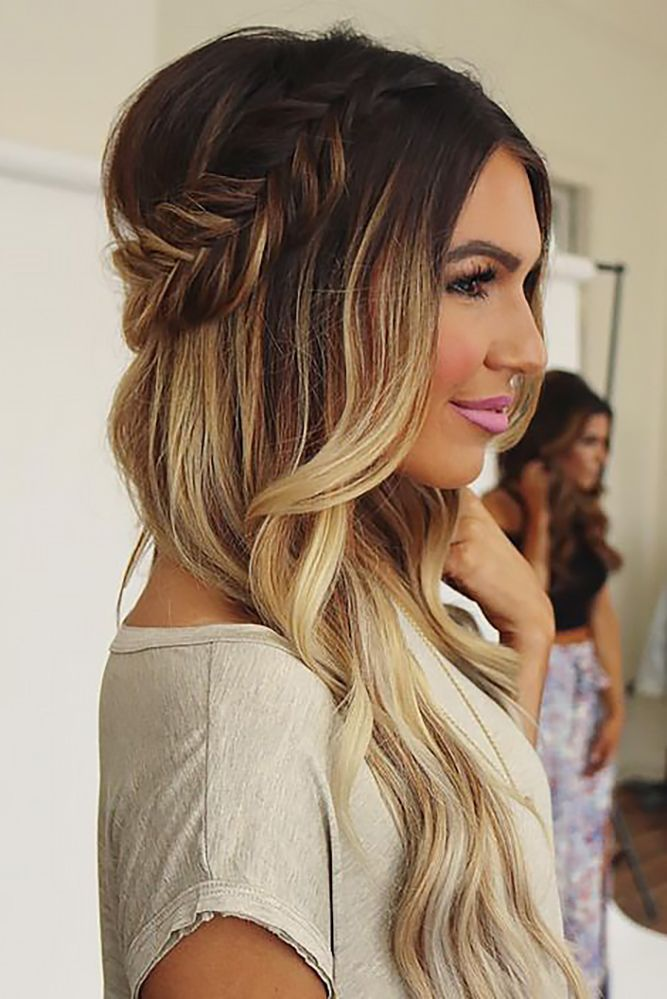27 Gorgeous Wedding Hairstyles For Long Hair In 2019: 27 Ombre Wedding Hairstyles