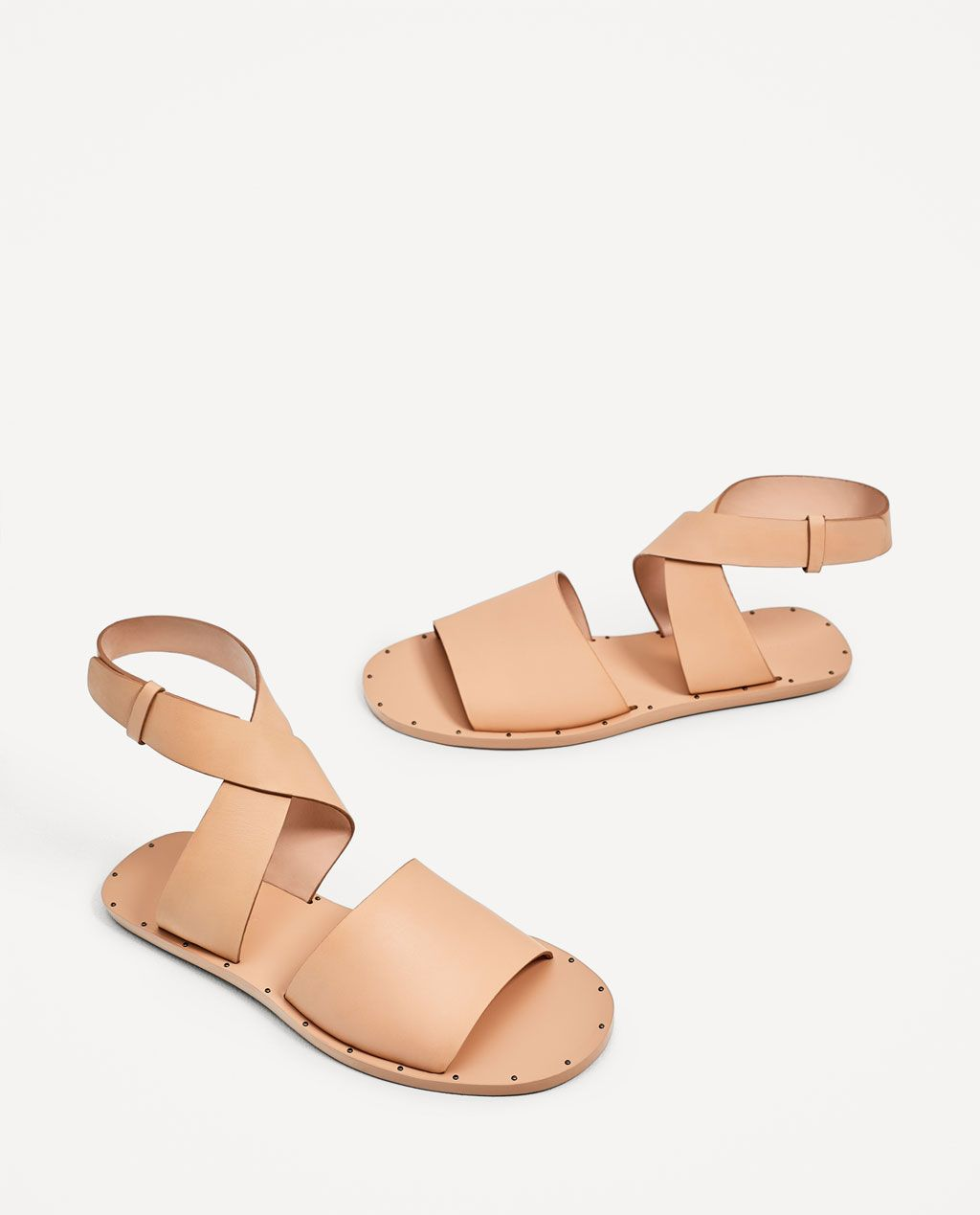 720470e71bc0 FLAT LEATHER SLIDES-View all-SHOES-WOMAN