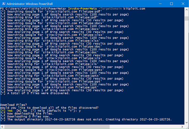 powershell out file linux