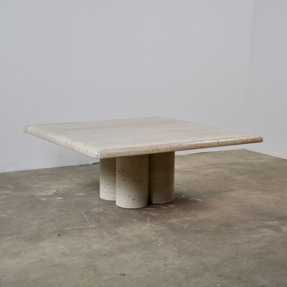 For Sale Travertine Coffee Table By Mario Bellini For Cassina 1970s Travertine Coffee Table Stone Coffee Table Coffee Table 2019