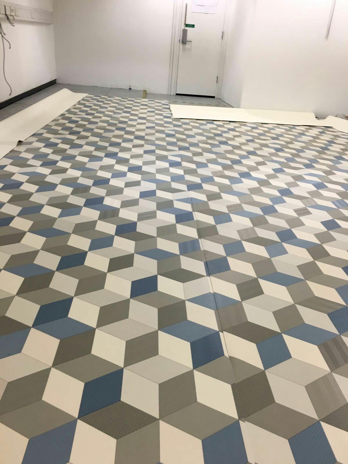 3D vinyl flooring