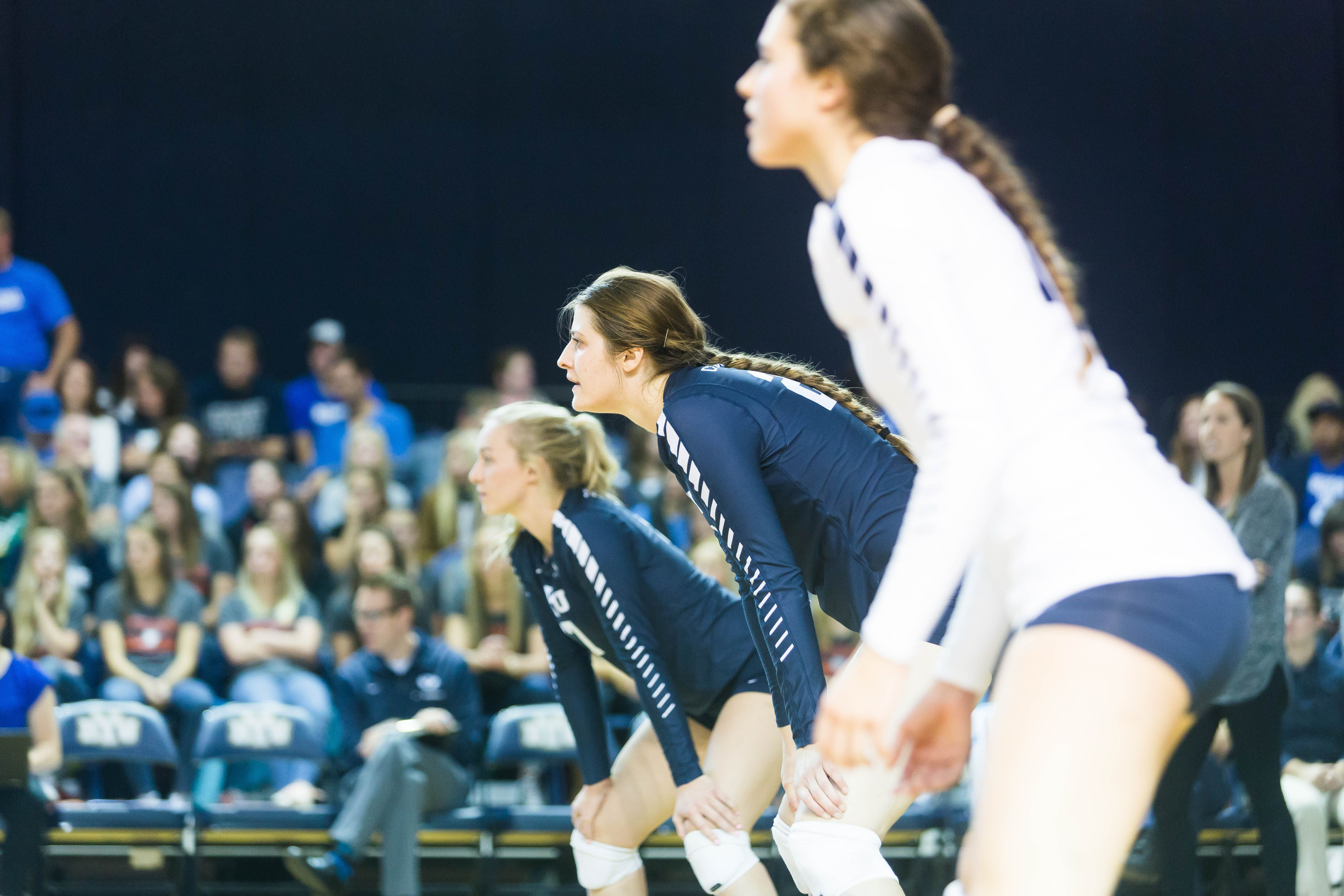 Rm Hannah Robison Playing Big Role For Byu Women S Volleyball The Daily Universe Women Volleyball Byu Byu Sports