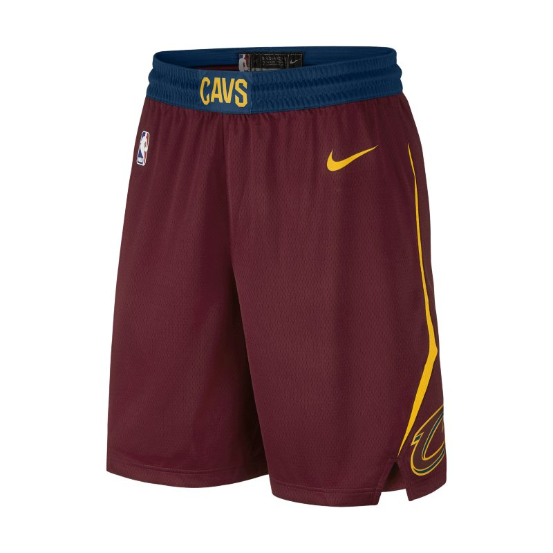 bfb4247ab Cleveland Cavaliers Nike Icon Edition Swingman Men s NBA Shorts - Red