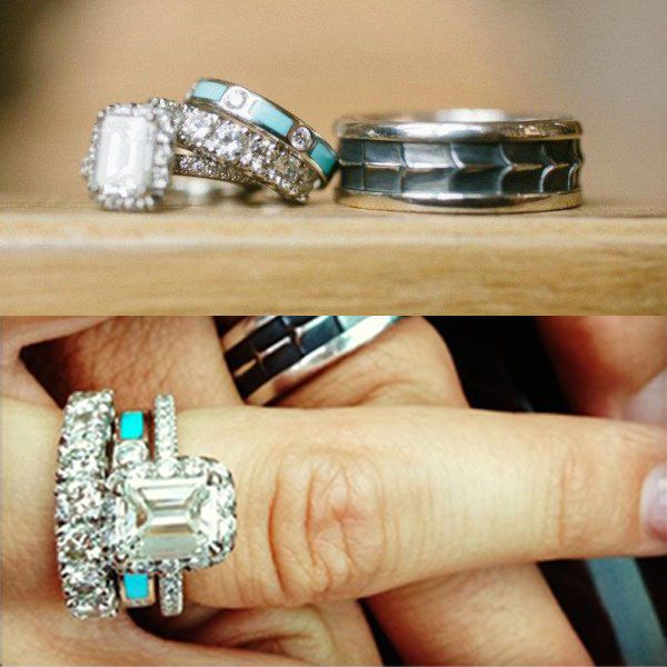 Cowgirl Wedding Ring Inspiration Turquoise Wedding Rings Ruby Wedding Rings Big Wedding Rings