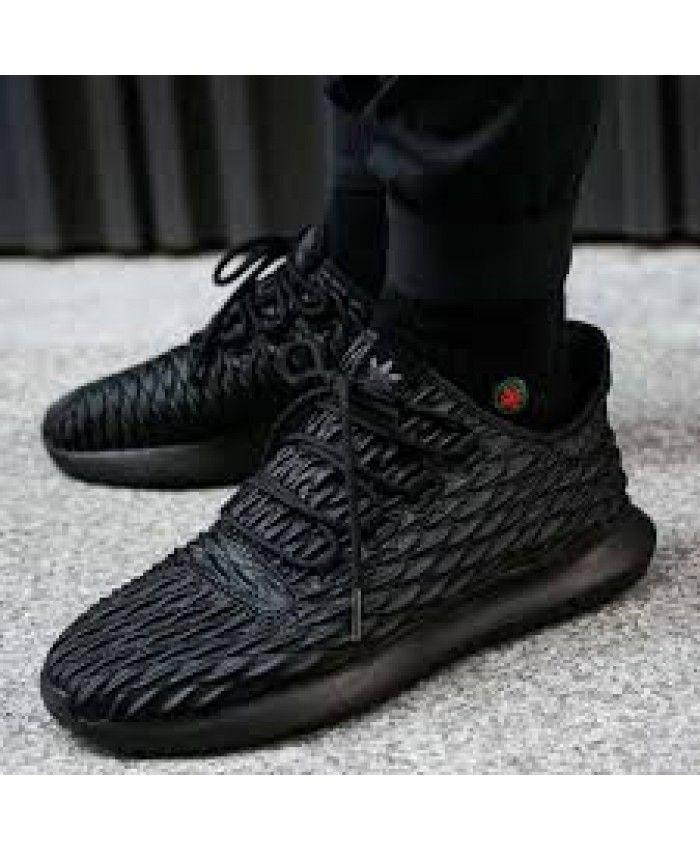 Adidas tubular de sombra 3D Triple negro Trainer moda barato Adidas