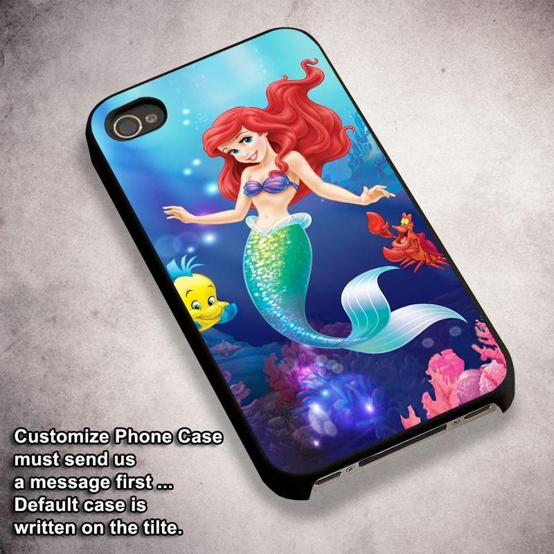 Ariel Little Mermaid Undersea - For iPhone 4/ 4S/ 5/ 5S/ 5SE/ 5C/ 6/ 6S/ 6 PLUS/ 6S PLUS/ 7/ 7 PLUS Case And Samsung Galaxy Case