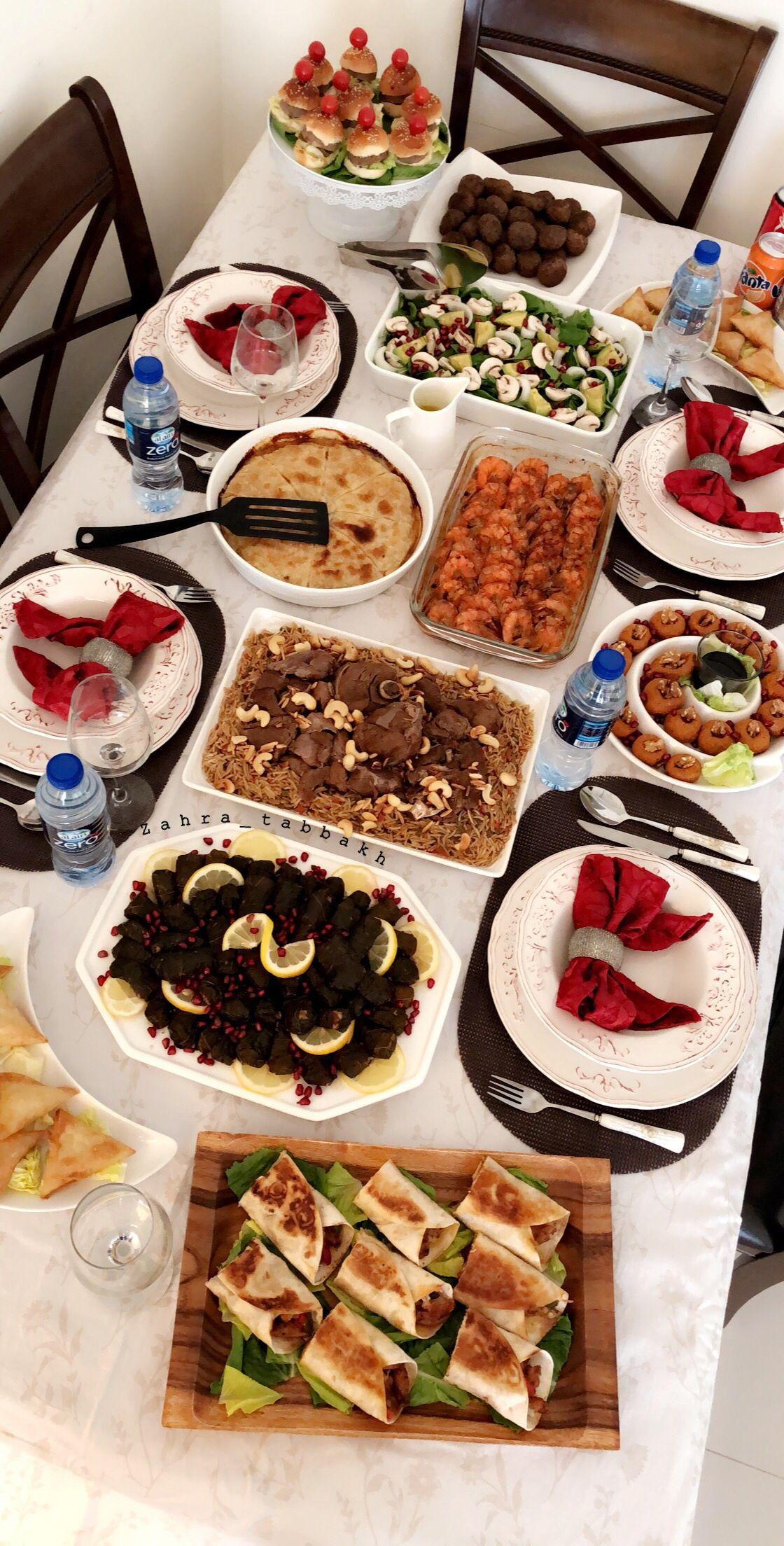 Homedecor ترتيب افكار ترتيب ترتيب طعام ديكور طاولات سفرة طعام أكلات طبخات تزيين طاولات تزيين Tablesettings Fo Eid Food Food Snapchat Instagram Food