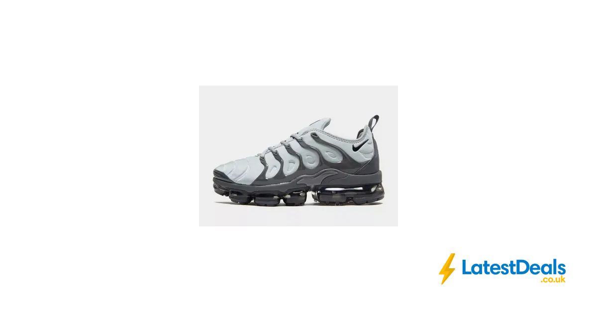 online retailer cf843 89e96 Nike Air VaporMax plus Sizes 6 >13 with Code, £127.50 at JD ...