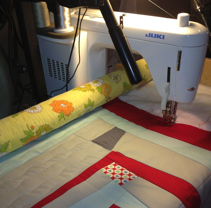 Are you a quilting frame fanatic? If you prefer not to baste your quilts, take a…