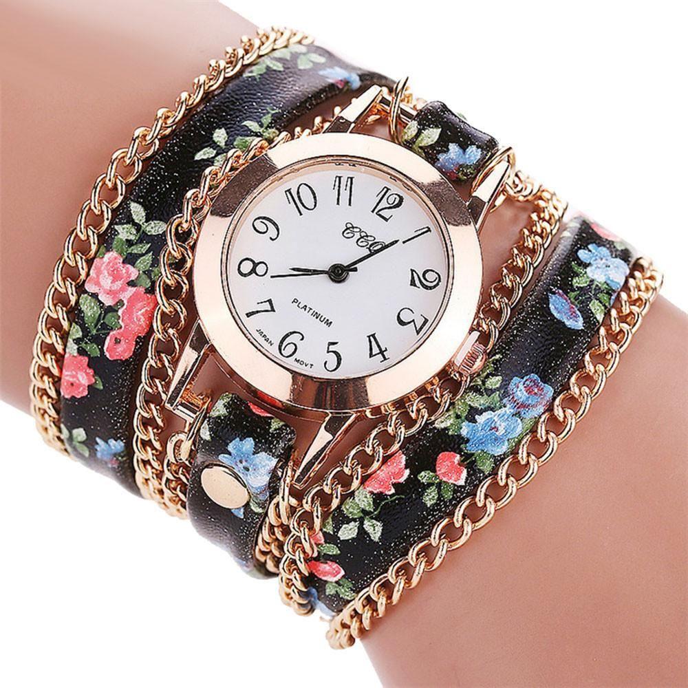 Ccq women fashion casual analog bracelet watch women fashion