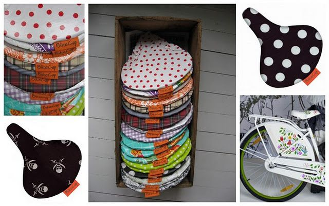 adorable little covers for your bike seat *swoon*