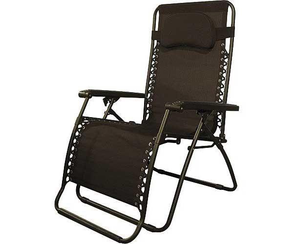 Caravan Canopy Brown Oversize Zero Gravity Chair