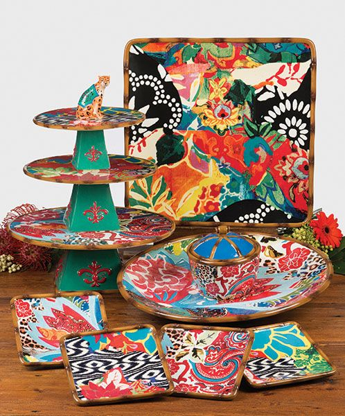 Magpie dinnerware collection ~ Poetic wanderlust by Tracy Porter  sc 1 st  Pinterest : tracy porter dinnerware patterns - pezcame.com
