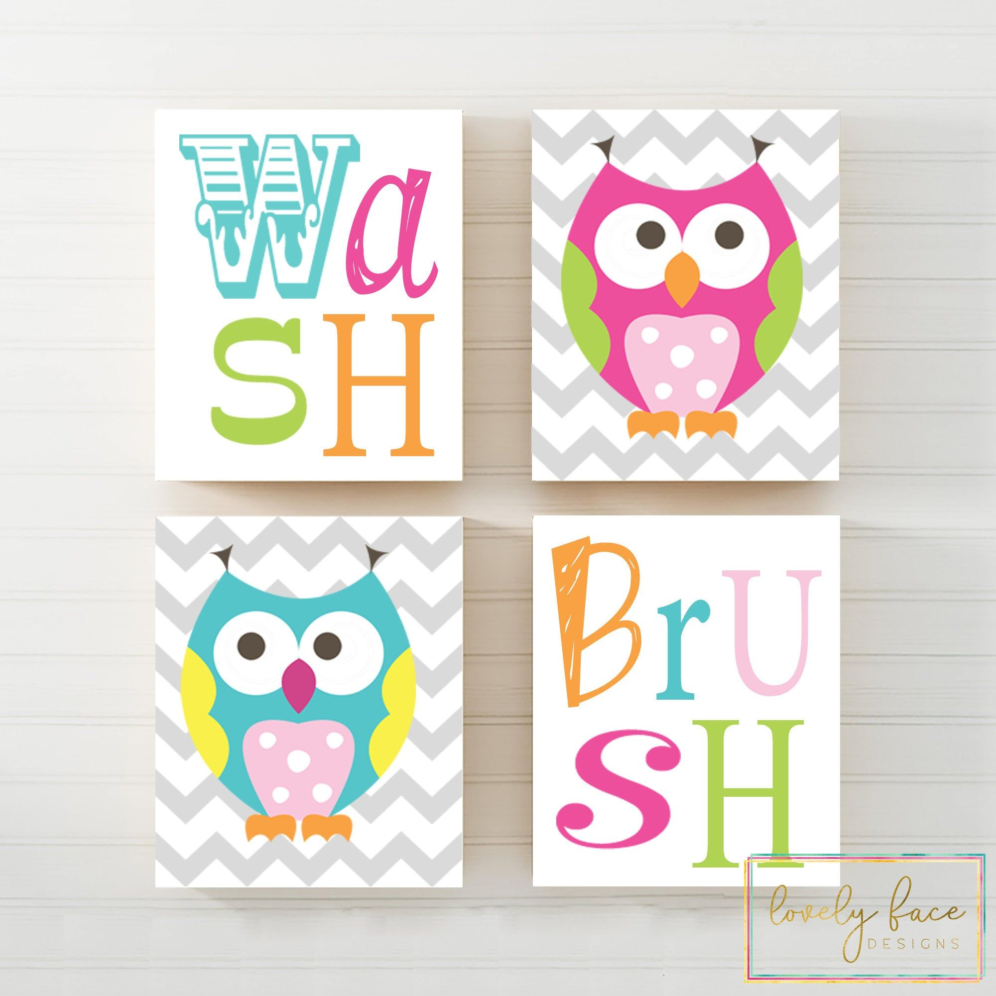 Pin On Lovely Face Designs Owl bathroom decor set
