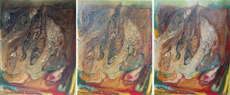 Art Restoration San Francisco Fire Damaged Painting Conservation Sergey Konstantinov
