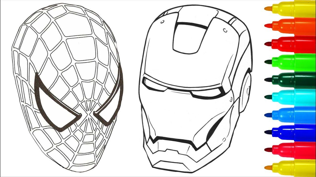 New Ideas Iron Man For Coloring in 7  Spiderman coloring
