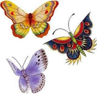 Motives, ideas and company: butterflies