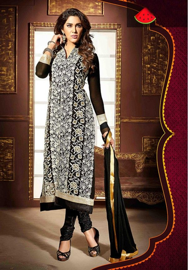 Online Shopping Full Salwar Kameez Catalogue In India Embroidered