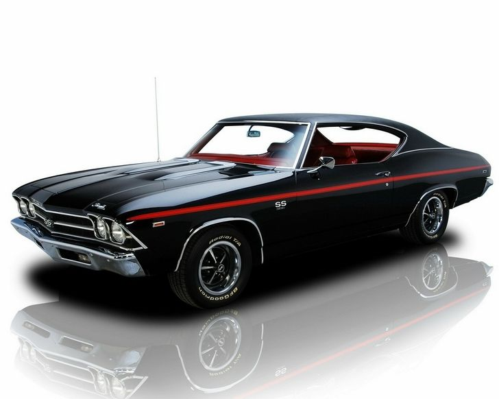 Old Muscle Cars Cars Vehicles Old Cars Black Cars
