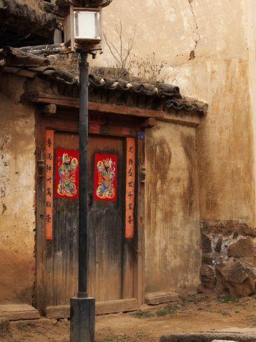 Old Doors Sideng Village Shaxi Yunnan China Old Doors Doors Beautiful Doors