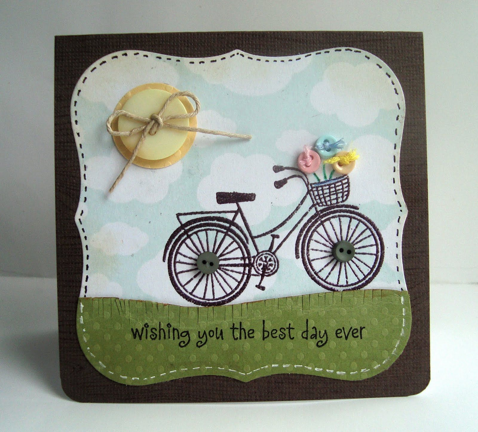 Hero Arts Bicycle Stamps And Cards Using Google Search