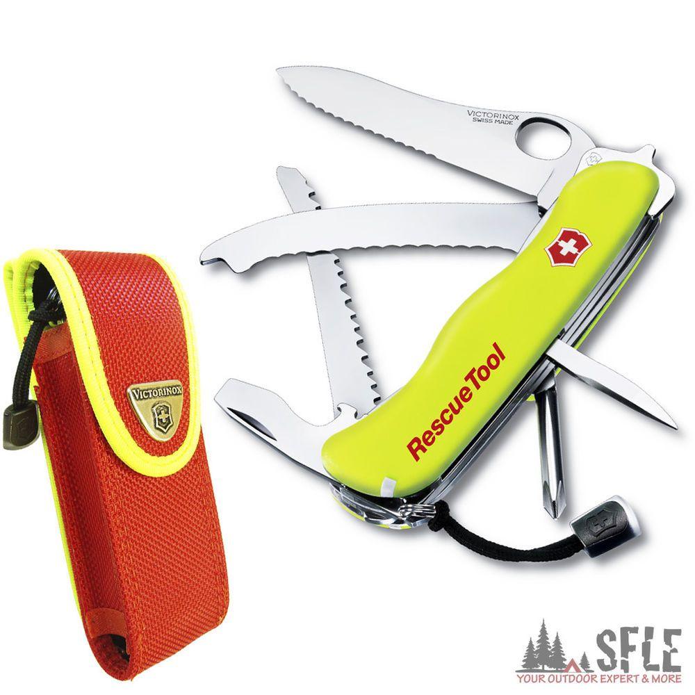 Victorinox Rescuetool Rettungs Messer Swiss Knife Nachleuchtend 0 8623 Mwn Messer Schweizer Messer Taschenmesser