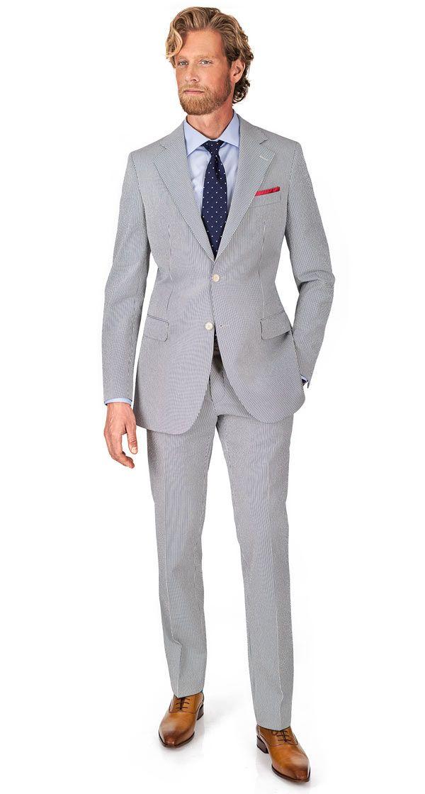Seersucker Suit Seersucker Suit Pants Outfit Men Mens Outfits