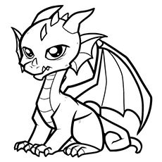 Top 10 Free Printable Chinese Dragon Coloring Pages Online Easy Dragon Drawings Baby Dragons Drawing Cute Dragon Drawing