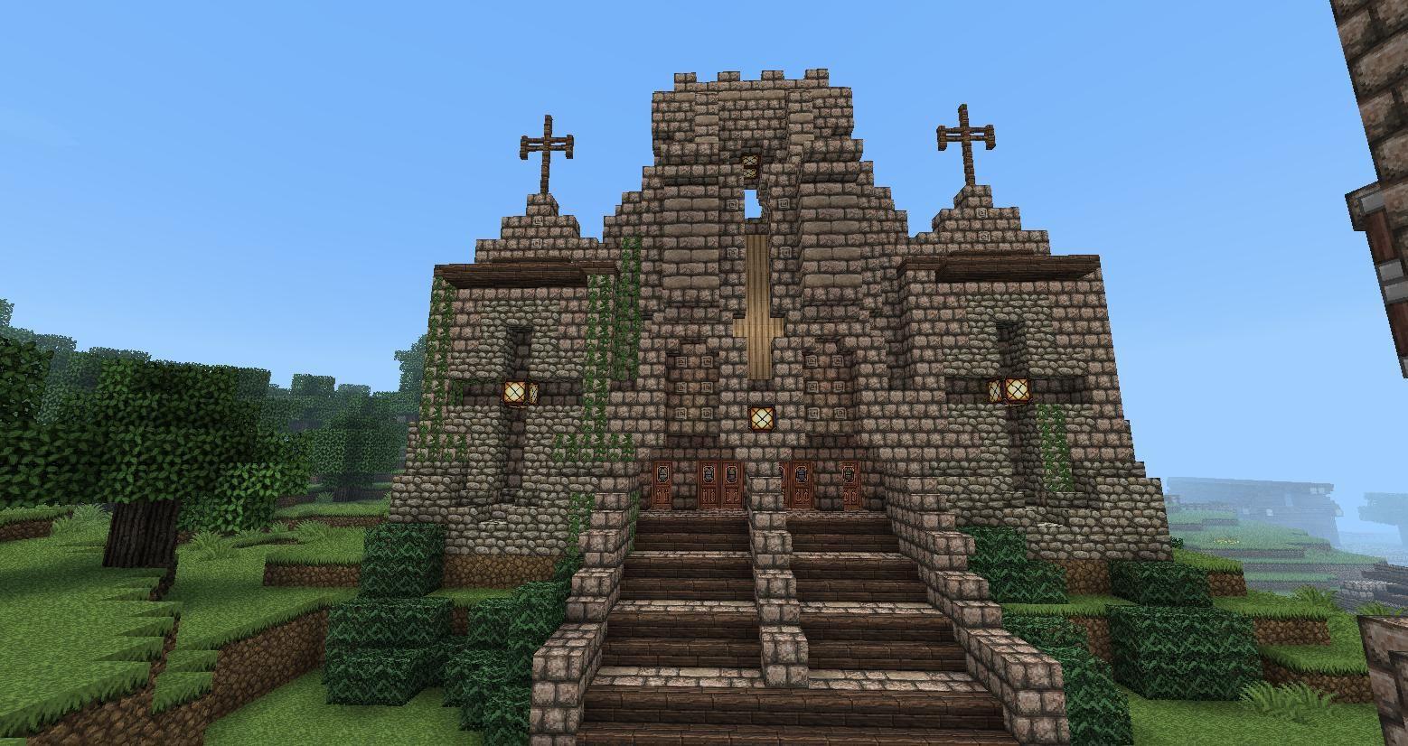 Minecraft Medieval Church