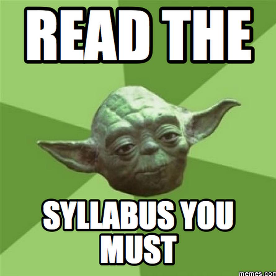 Pin by Nancy Ross on Syllabus Memes Yoda meme