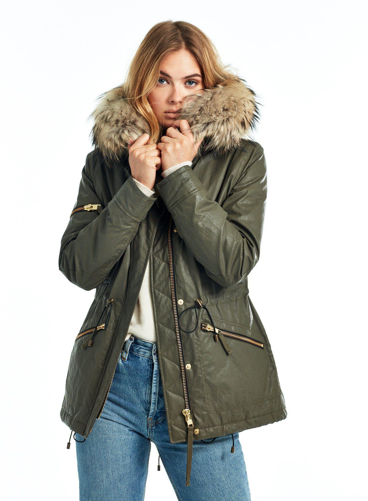 MINI HUDSON in 2020   Drawstring parka, Winter attire, Hudson